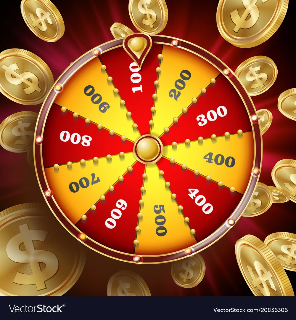 Wheel of fortune design win fortune
