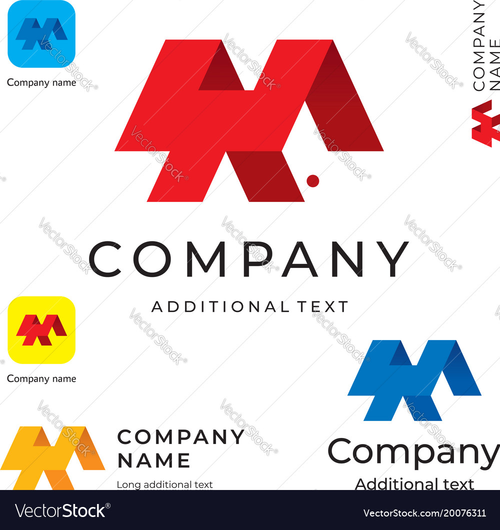 Abstract modern logo design and construction