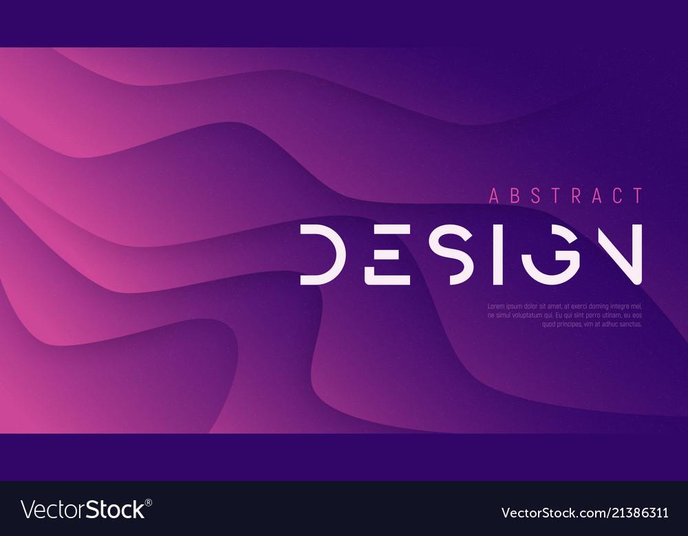 Abstract wavy background trendy minimalist