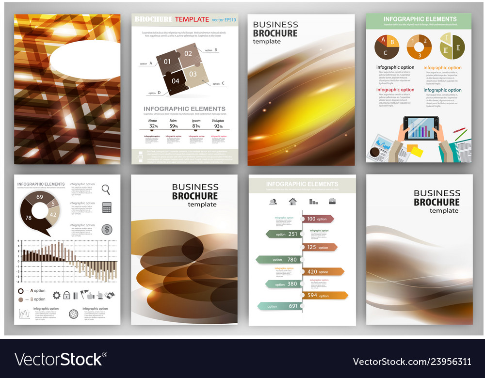 Brown business backgrounds and abstract concept