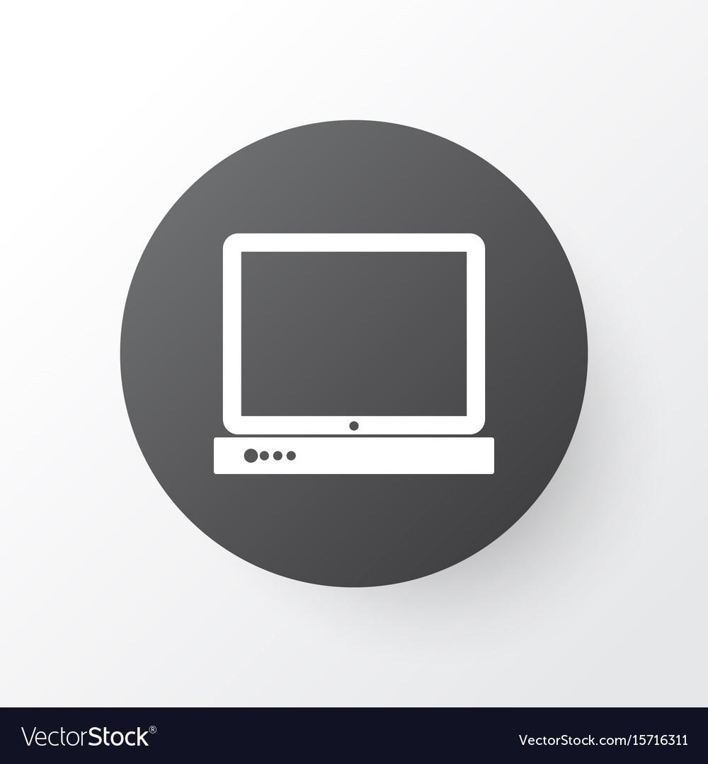 Desktop Computer Icon Symbol Premium Quality Vector Image