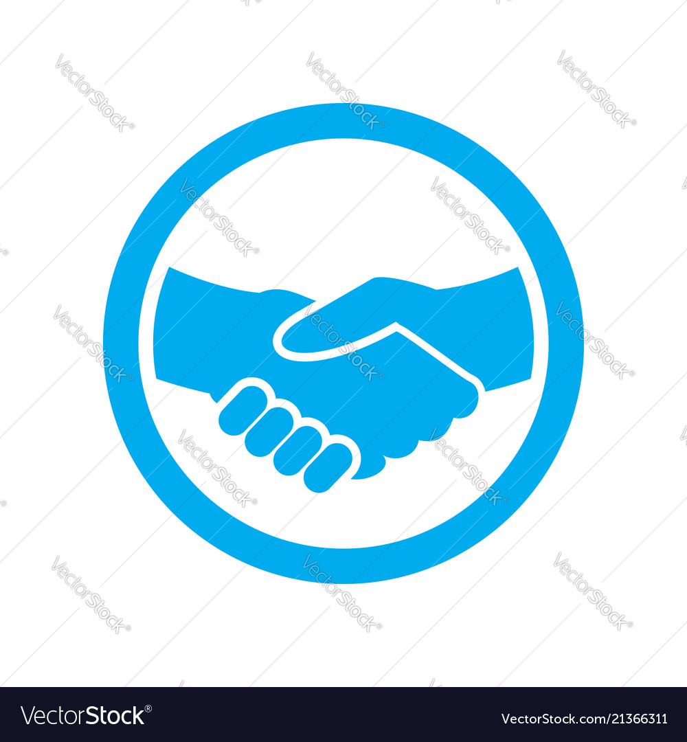 Employment Partnership Symbol Logo Icon Design Vector Image