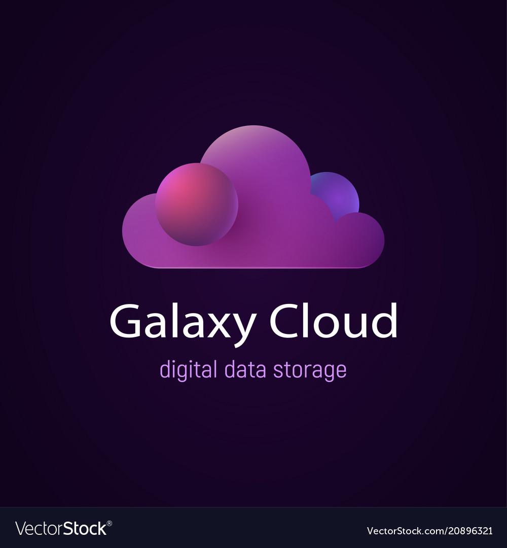 Cloud ui ux future design data storage
