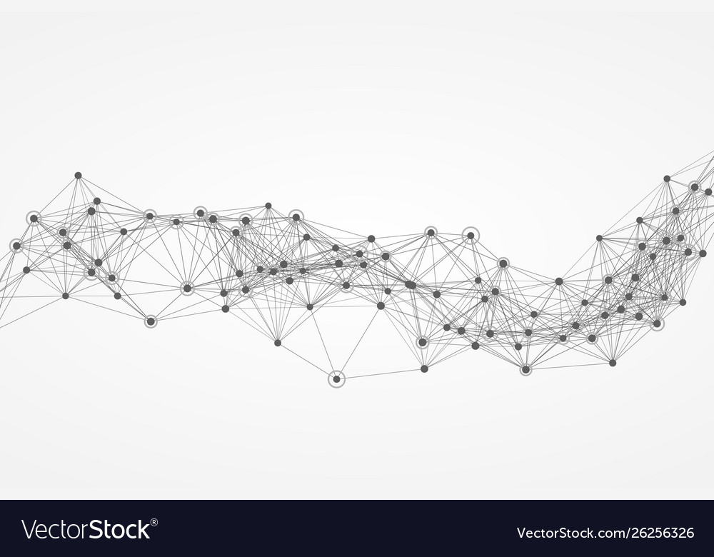 Abstract polygon network