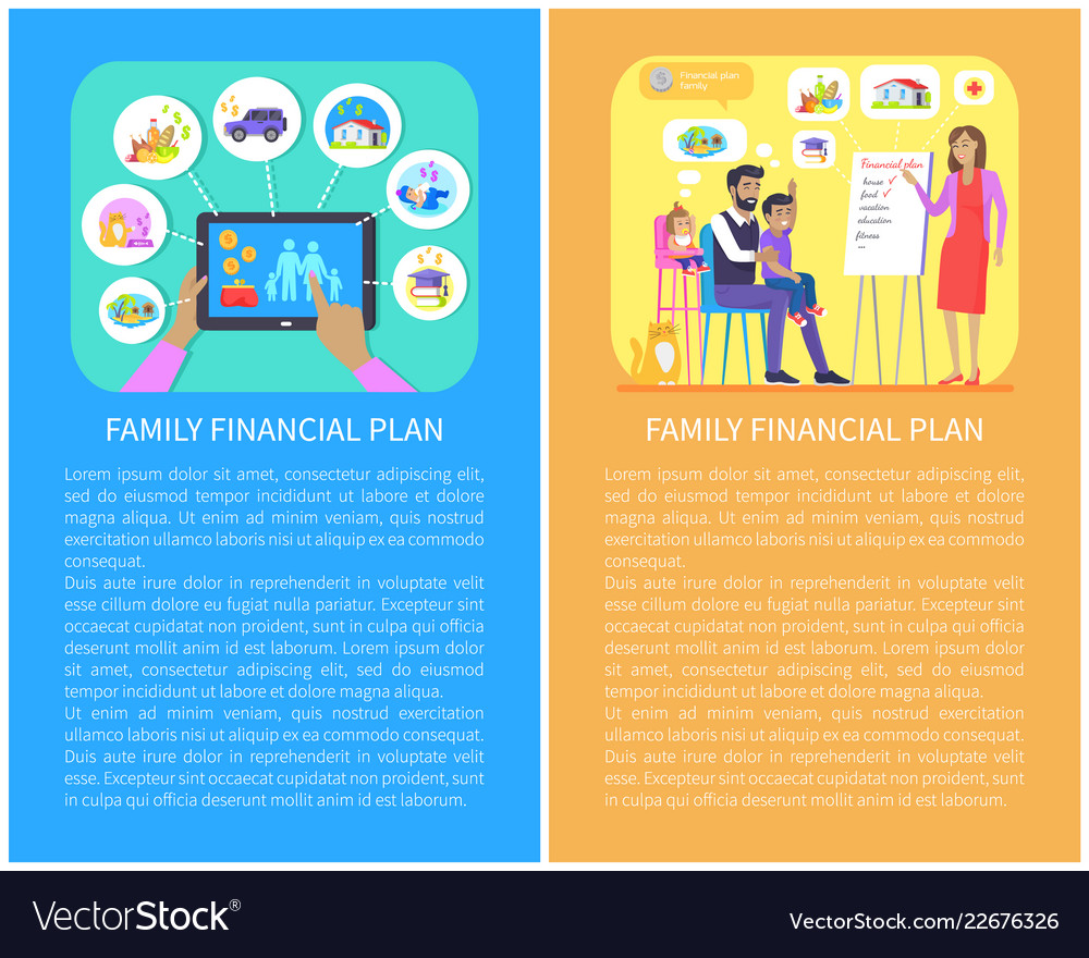 Family financial planning set