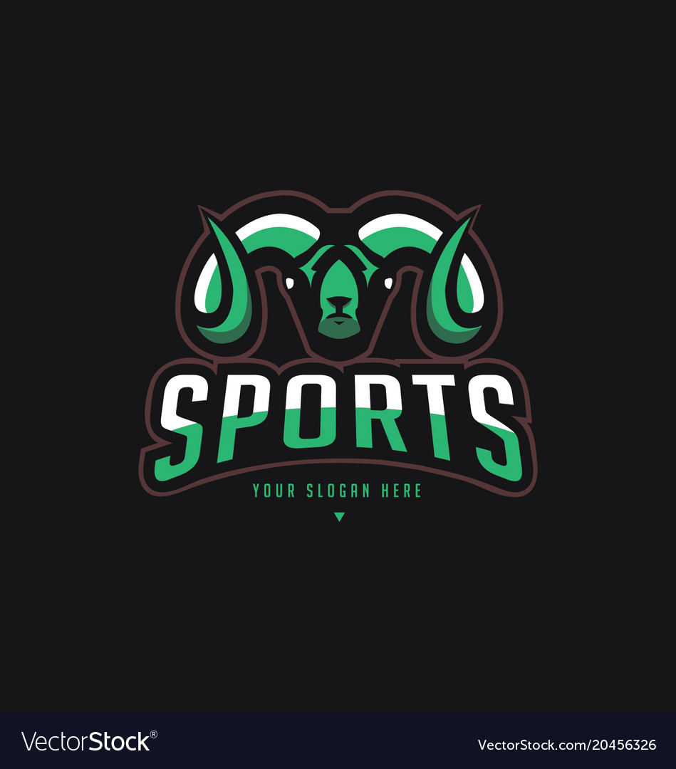 Sheep sports logo