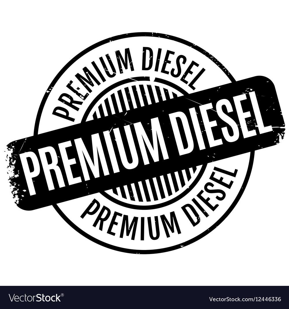 Premium Diesel rubber stamp