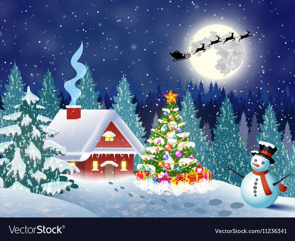 christmas landscape pictures