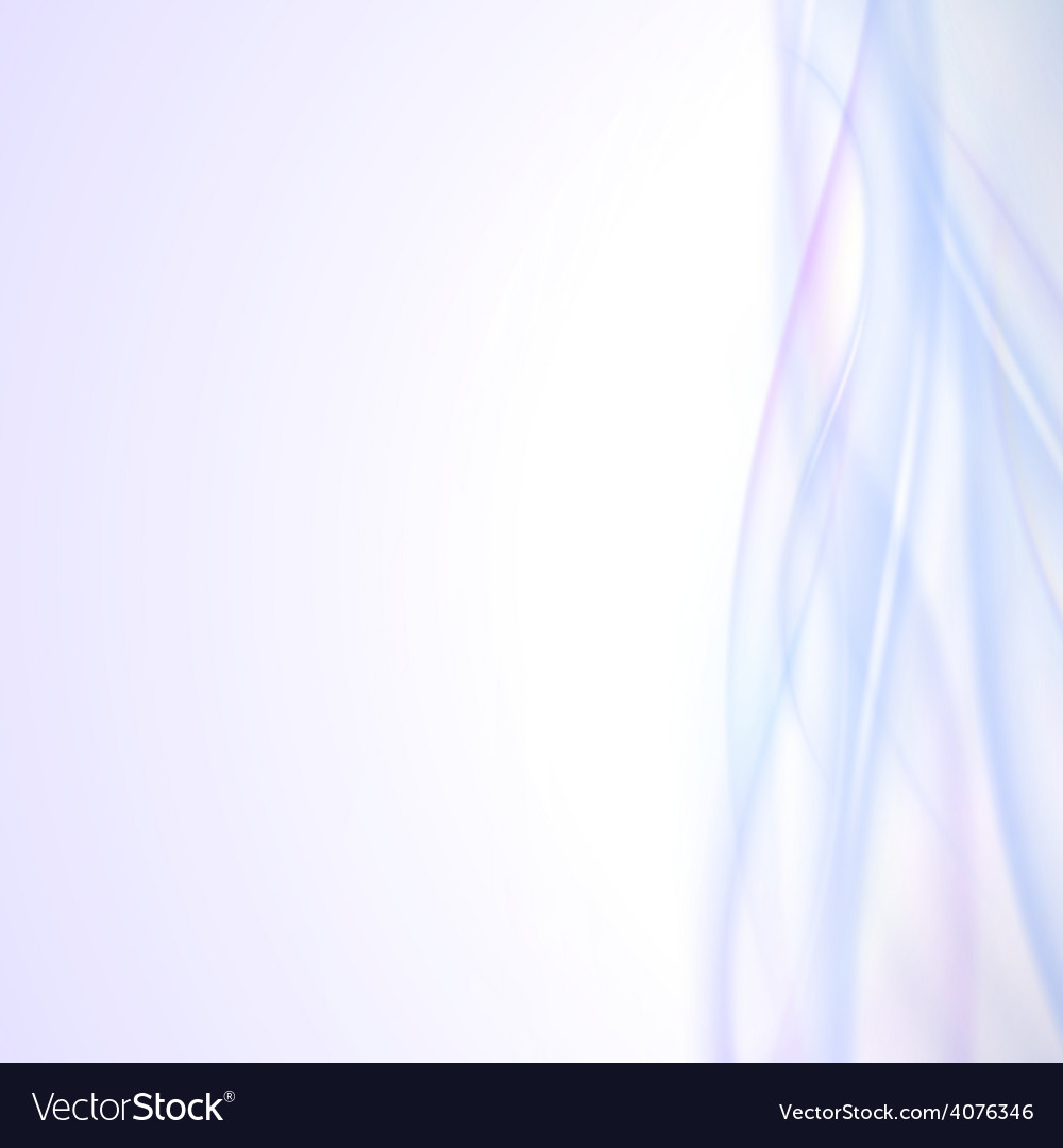 Abstract blue wave background light design
