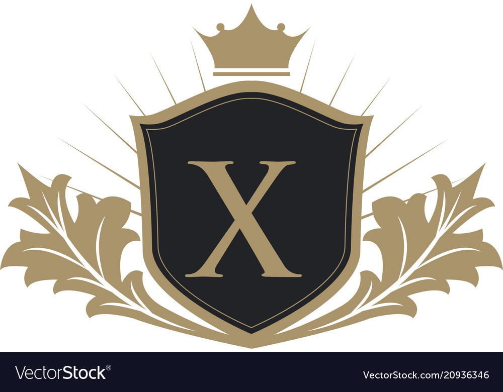 Luxury crest logo