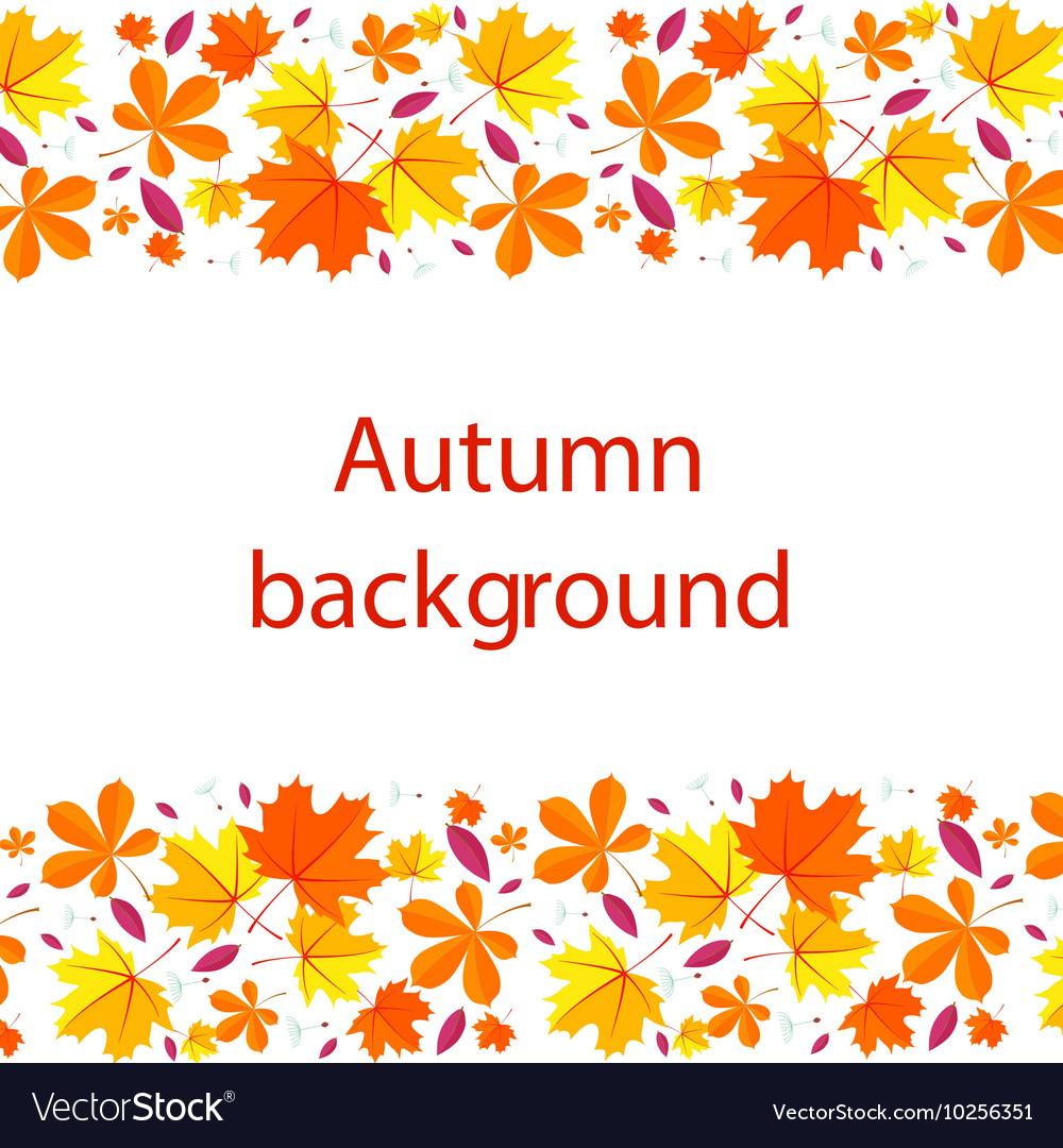 Autumn lettering background Autumn background