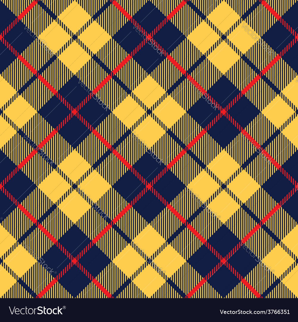 Blue orange tartan fabric texture diagonal little
