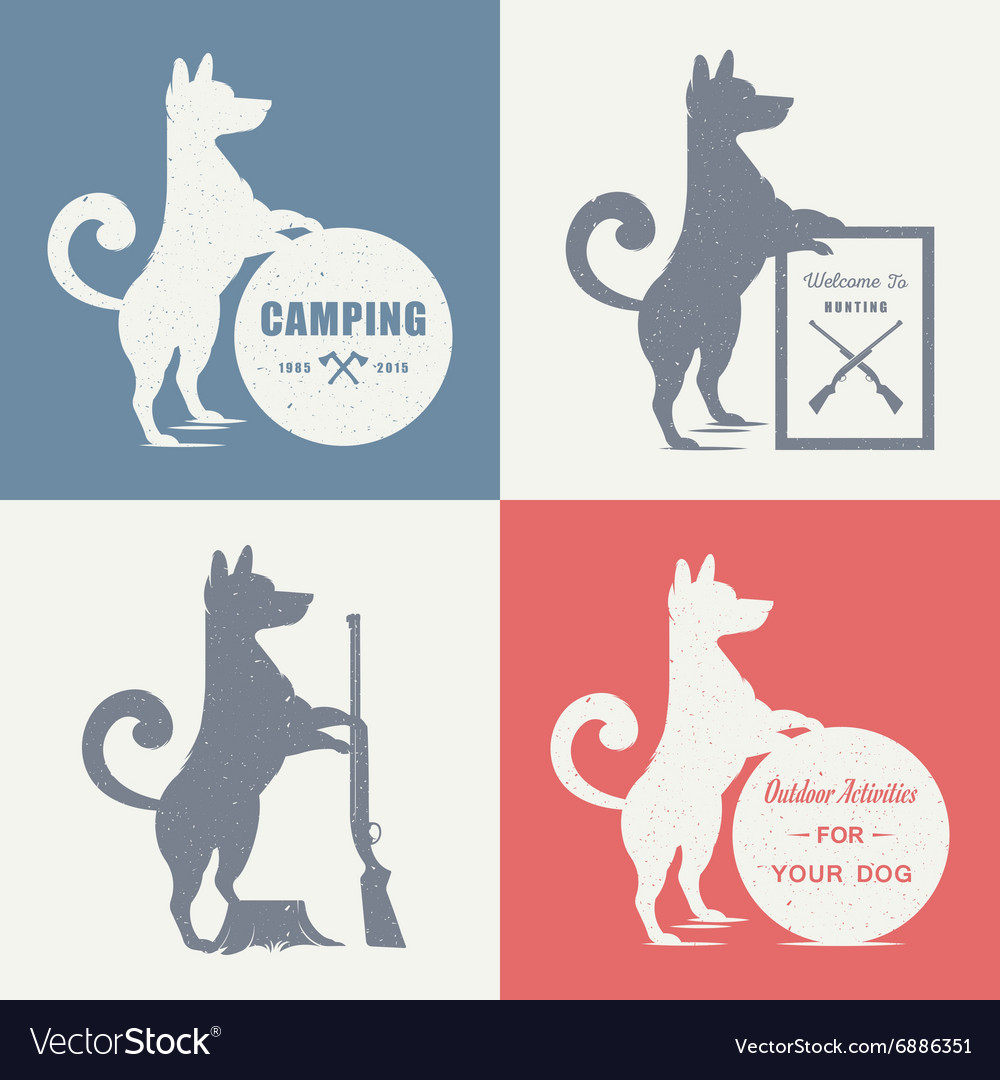 Set sign dog