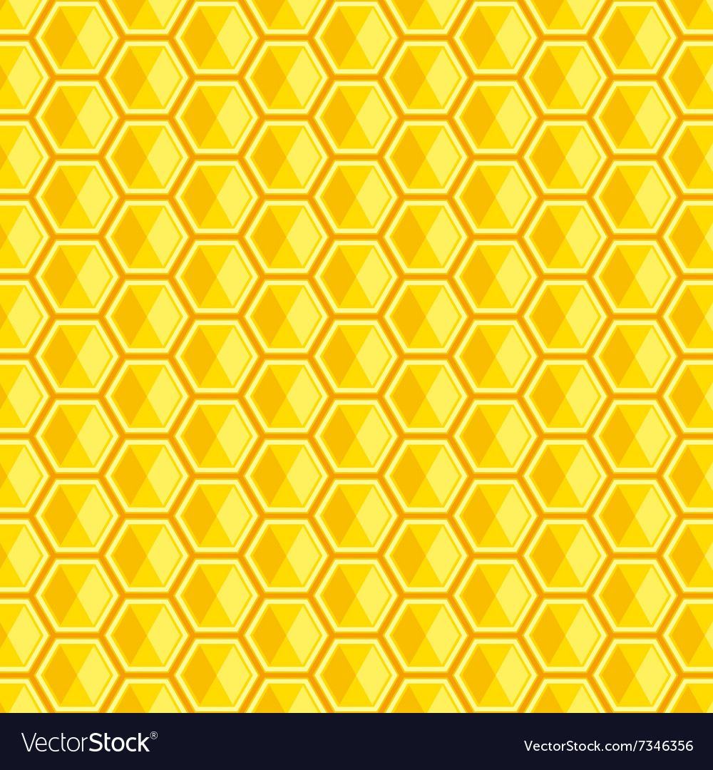 And illutration of honeycomb