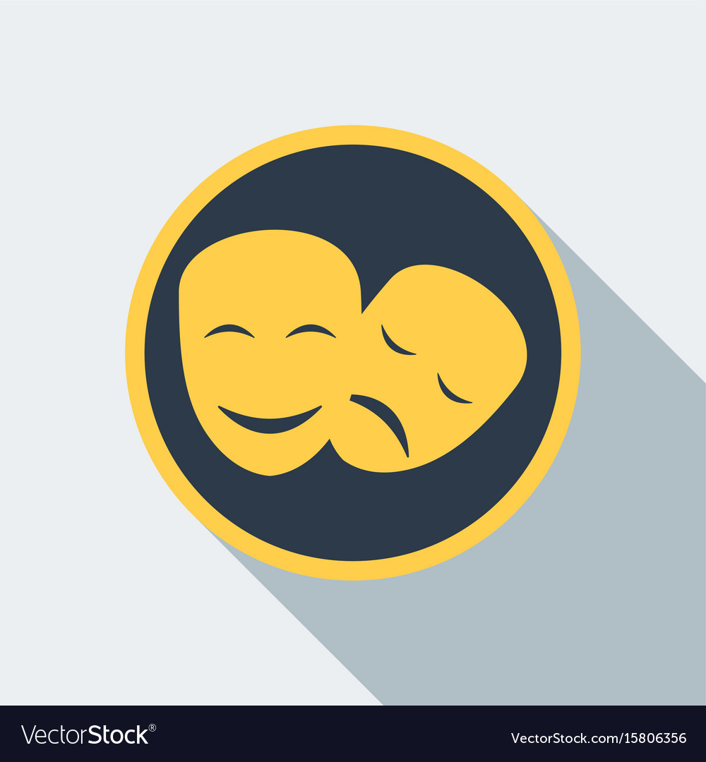 Cinema mask icon