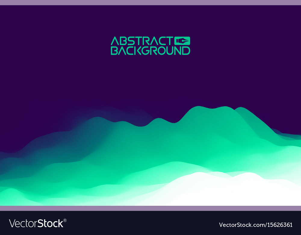 3d landscape background purple gradient abstract