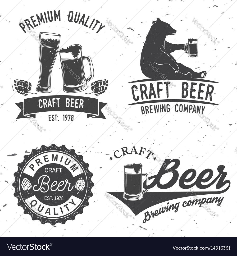 Vintage design for bar pub and restaurant
