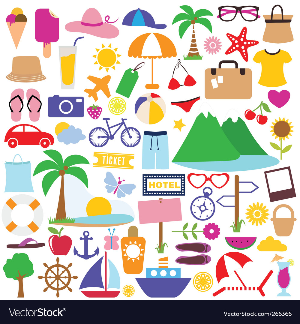Holiday icon vector image