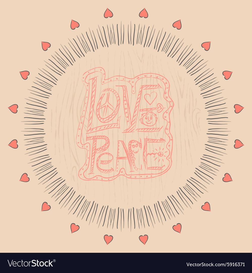Mandala Love and peace