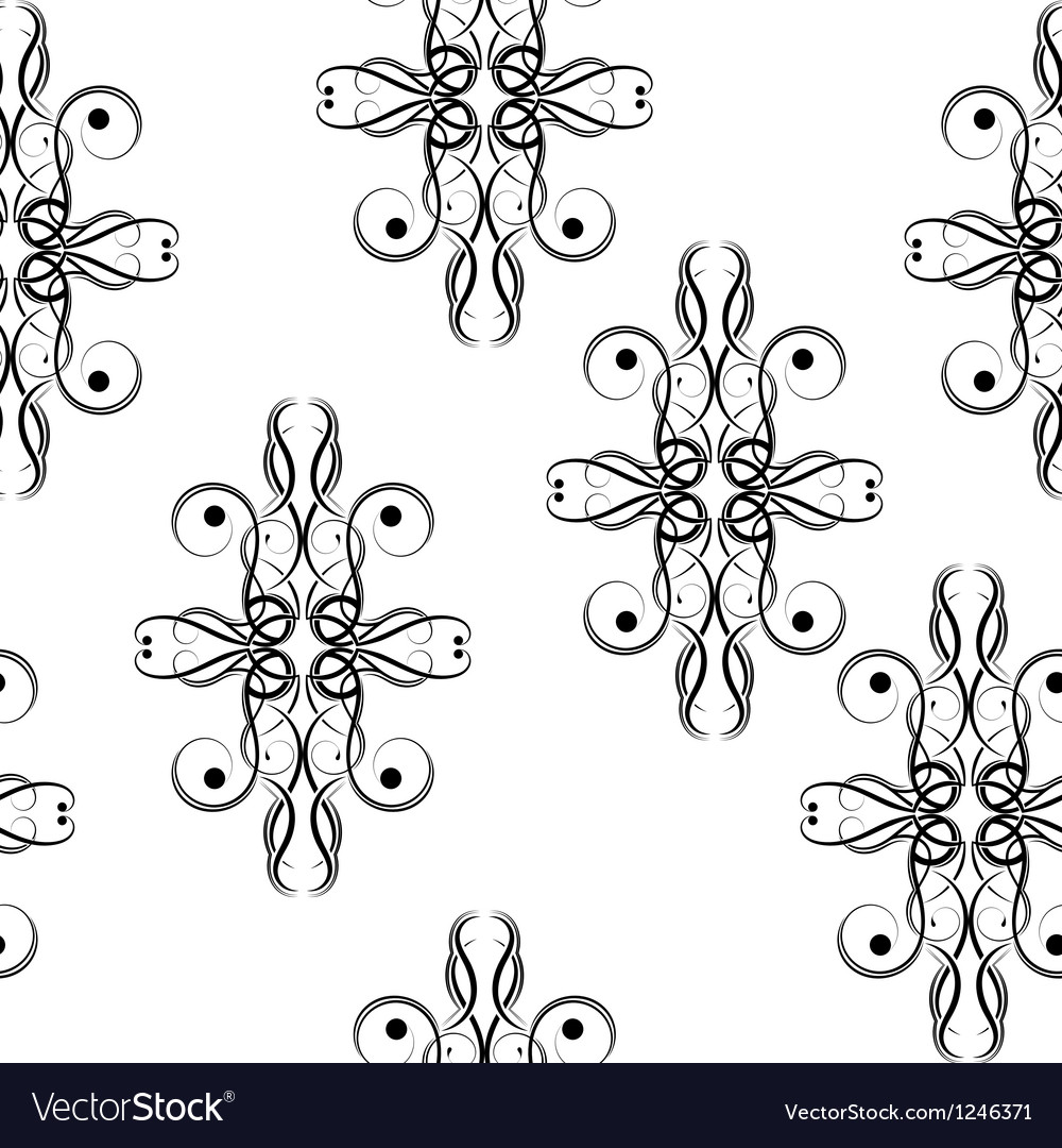Seamless texture of germs vector image