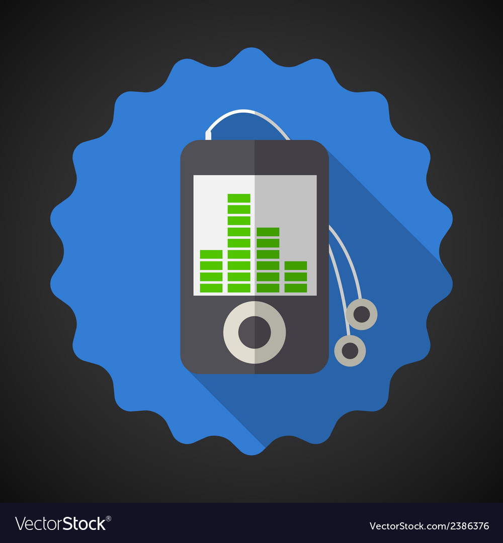 Music MP3 Equalizer Player Flat Icon