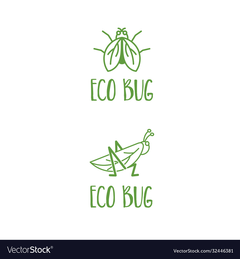 Template icon grasshopper and fly