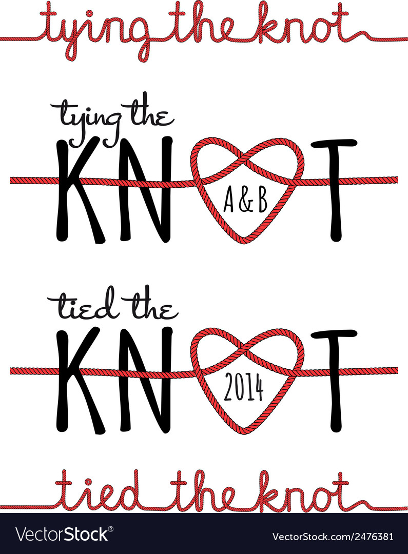 Tying the knot set