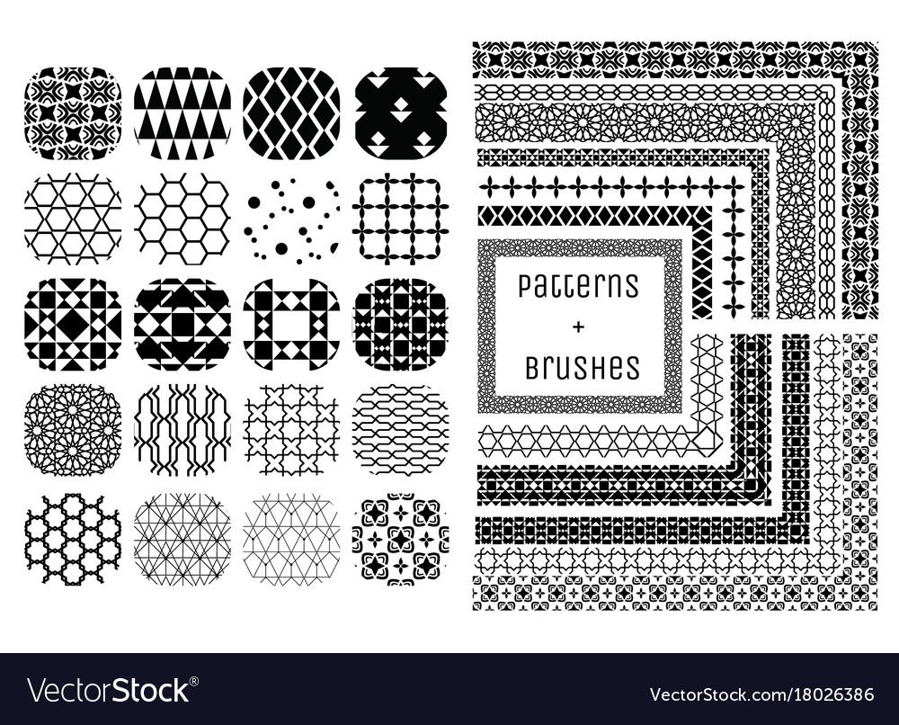 20 geometric patterns and 11 pattern