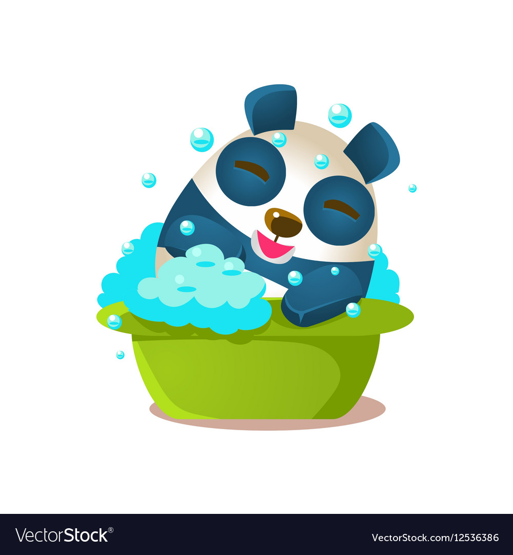 Cute Panda Activity With Humanized