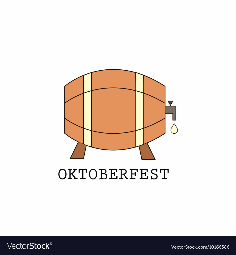 Oktoberfest vintage poster or greeting card and