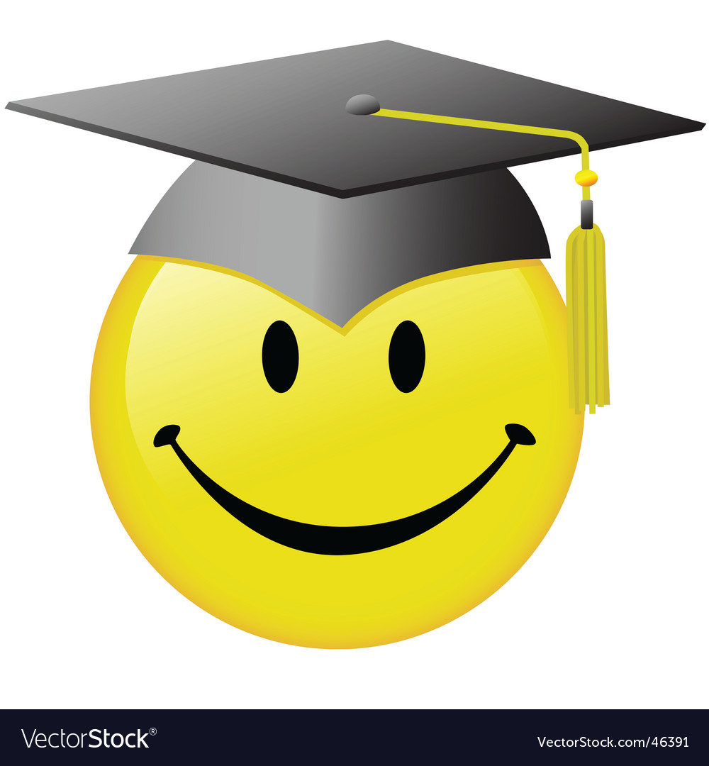 Graduation smiley face