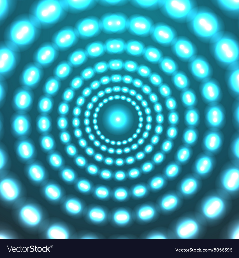 Glowing circle background Eps10
