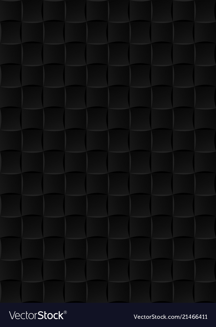 Black Ceramic Tiles Seamless Texture Abstract Vector Image