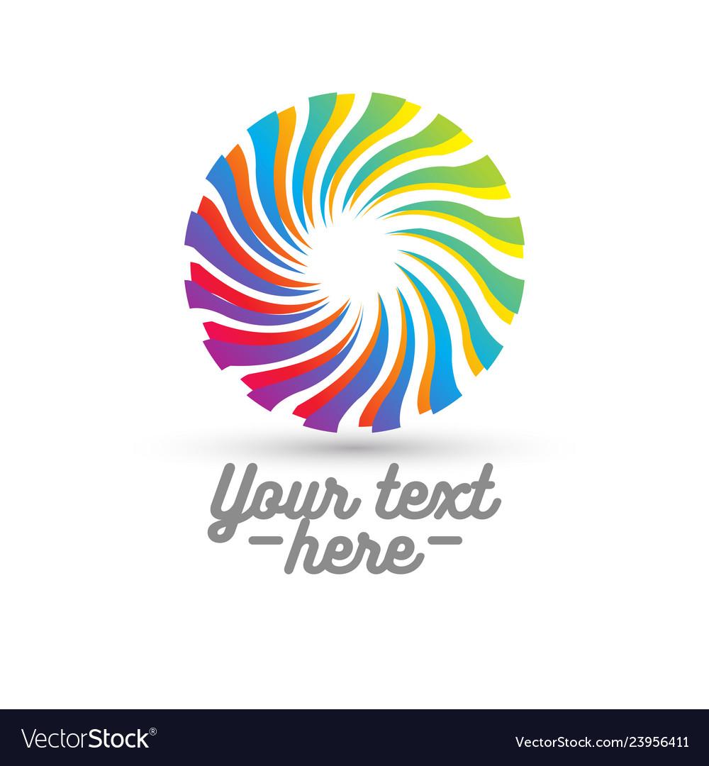 Concept of circle logo