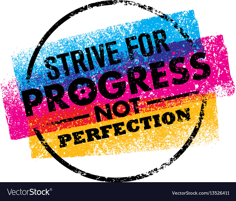 Inspiring motivation quote with text strive for vector image