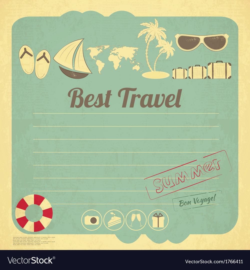 Summer Travel Card