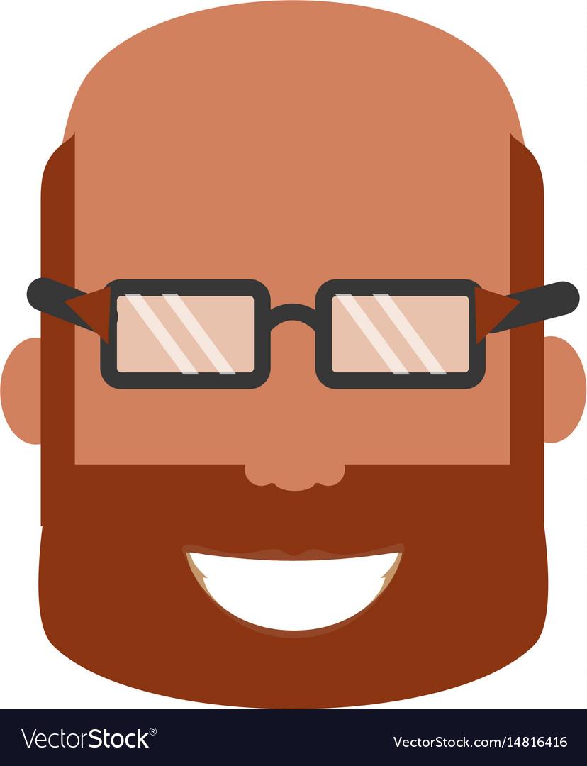 Adult male bald head
