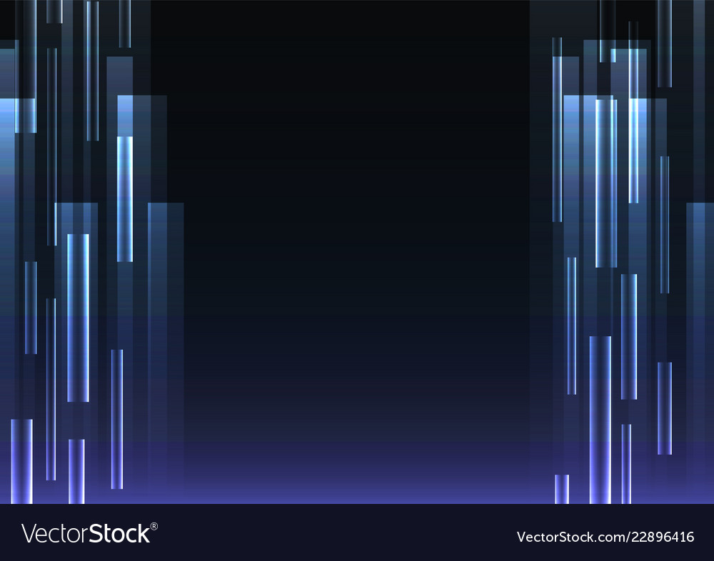 Blue overlap pixel speed abstract background