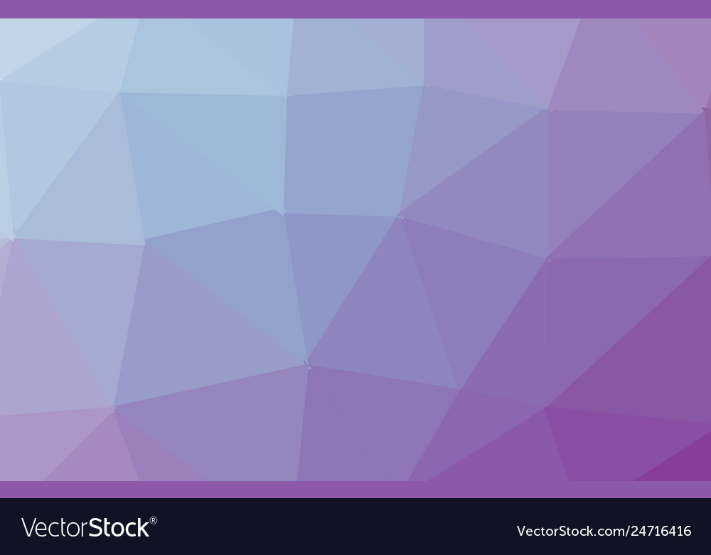 Dark purple pink low poly crystal background