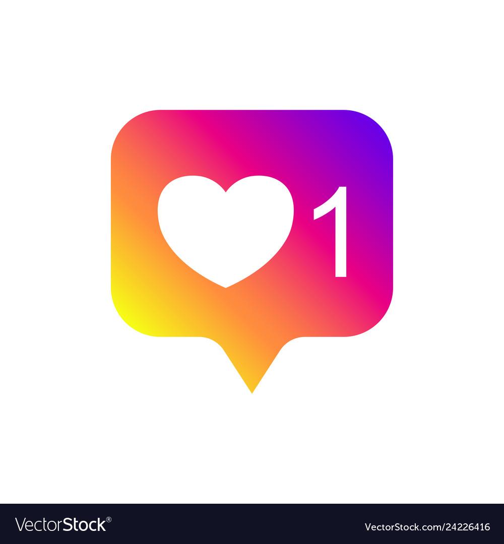 Social media notifications like followers good