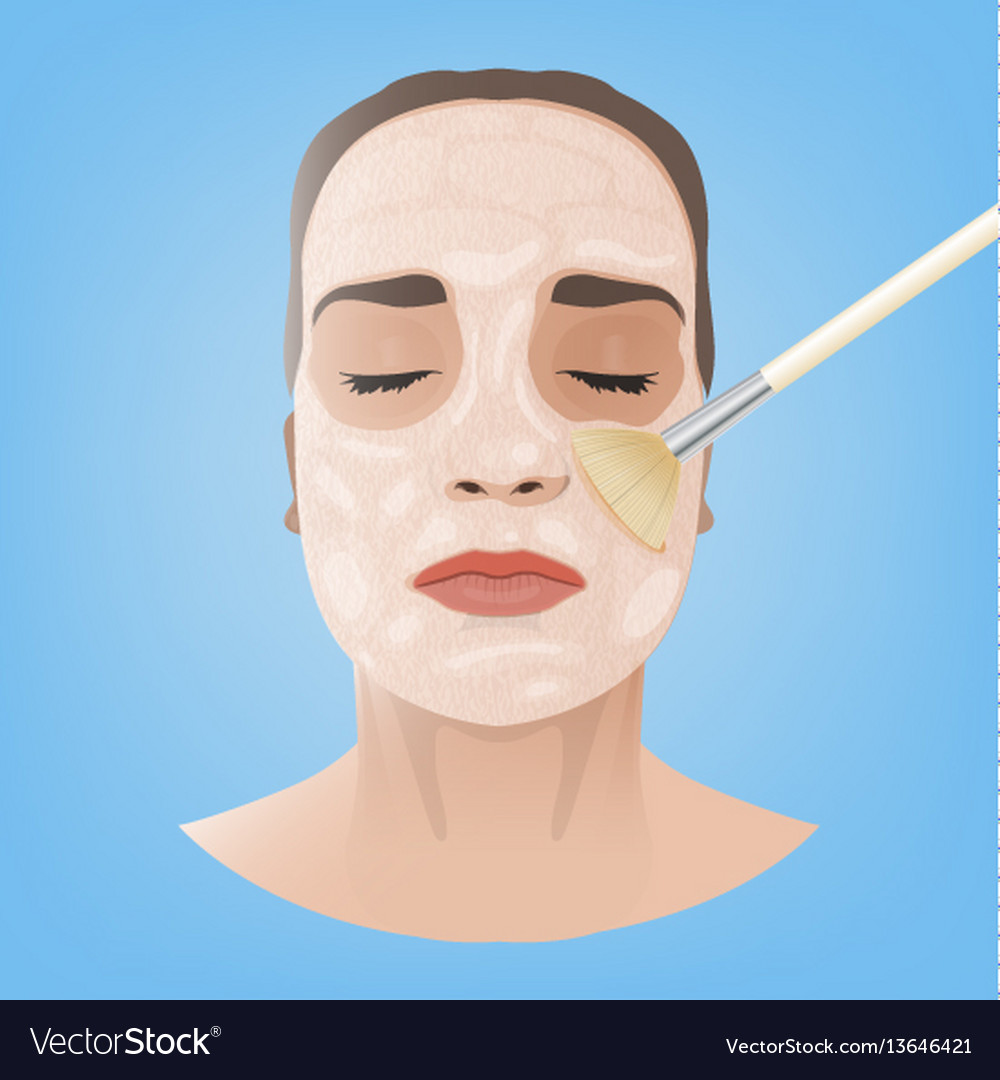 Cosmetological face image
