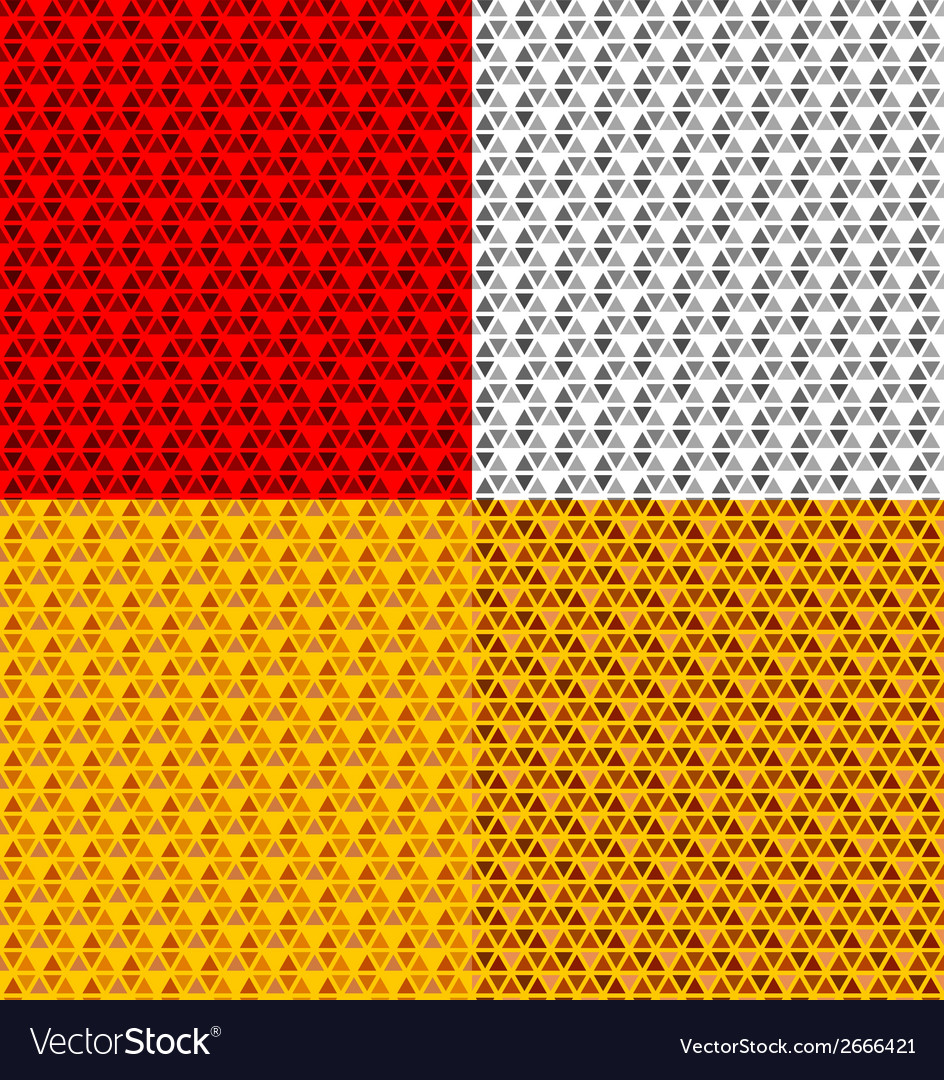 Vehicle reflector seamless pattern vector image