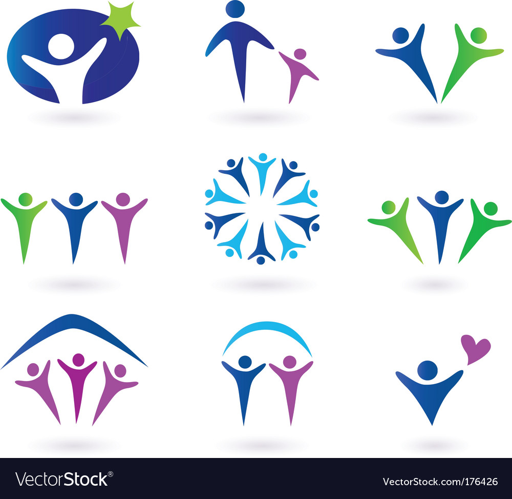 Community network and social icons