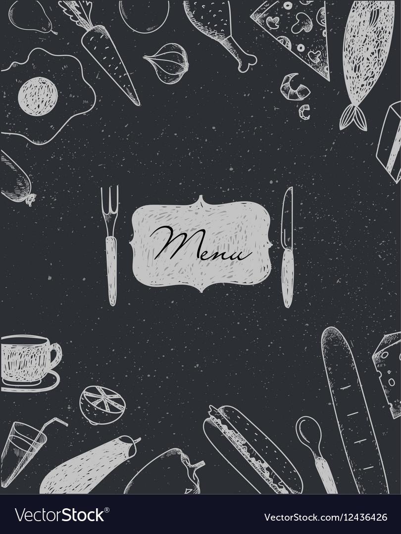 Restaurant brochure menu design Cafe
