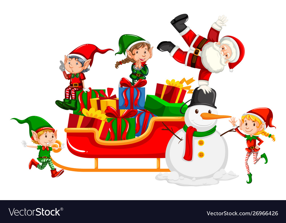 Cute Christmas Elf Clip Art, Transparent PNG Clipart Images Free Download -  ClipartMax