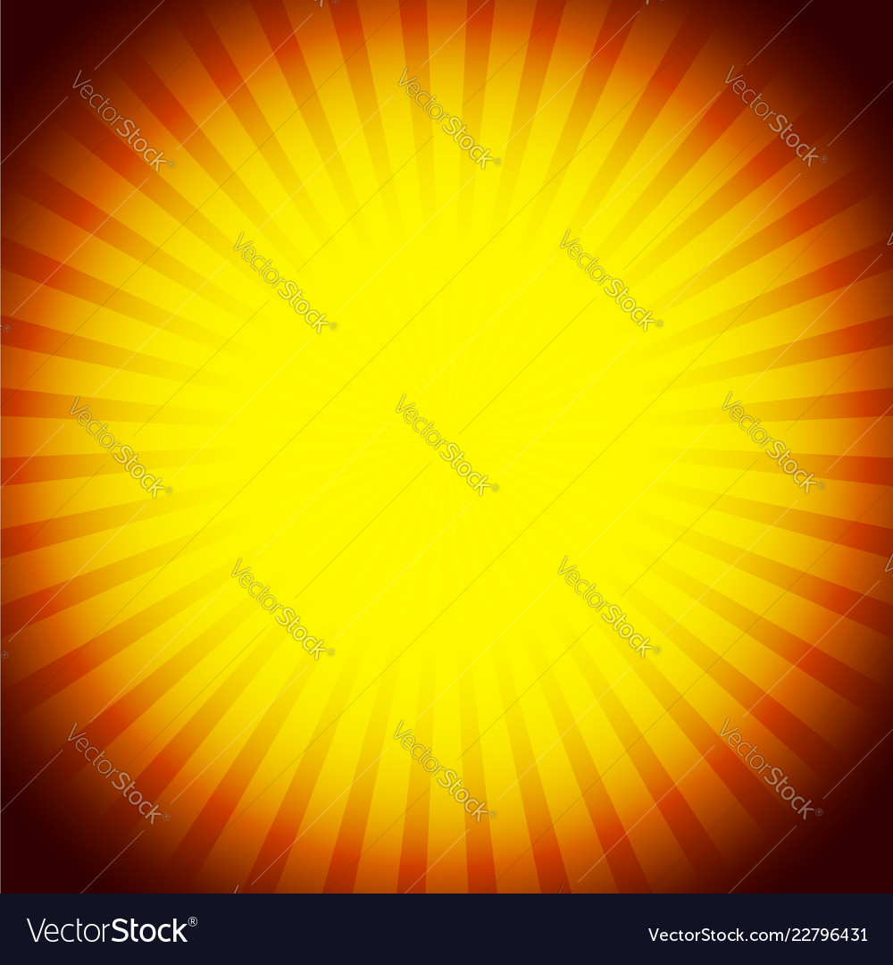 Abstract rays glowing sunburst background