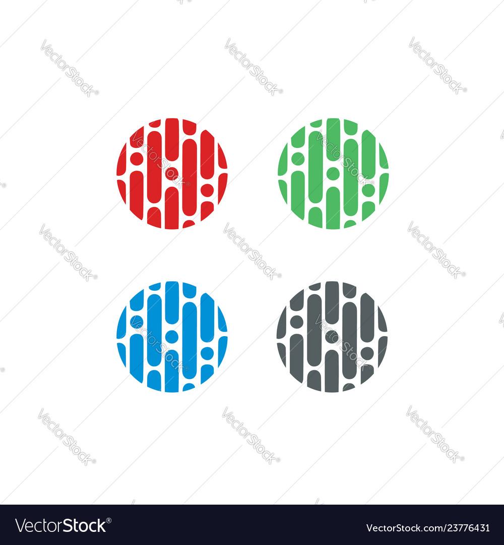 Circle-logo-set