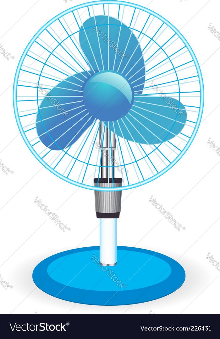 Table fan illustration