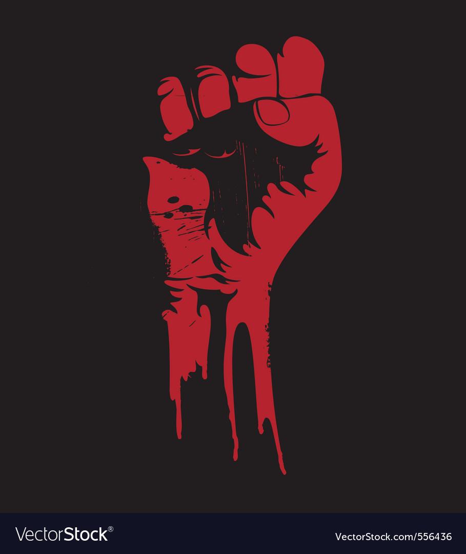 Grunge fist
