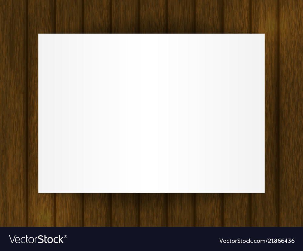 Template for your design blank on wooden